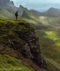 The Quiraing a place where one could gaze endlessly, Isle of SKye, Scotland