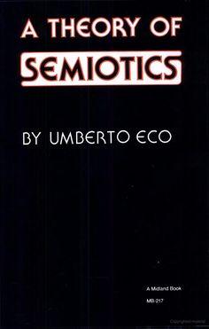 A Theory of Semiotics - Umberto Eco. Eco skelner mellem tekstens brug og tekstens fortolkning.