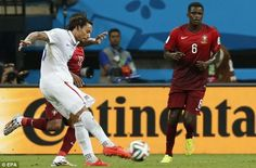 USA 2-2 Portugal - Torture for America as Portugal equalize in the ...