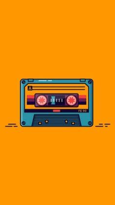 Graphic Wallpaper, Music Wallpaper, Retro Wallpaper, Wallpaper Quotes, Art Of Noise, Minimalist Wallpaper, Cute Wallpapers, Iphone Wallpapers, Graphic Design Illustration