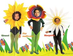 9 Ideas De Trajes Disfraces De Primavera Disfraces Para Niños Disfraces