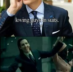 Marilyn Manson - A goth man in a suit, yes please. ♥