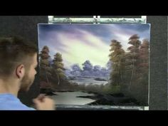 Paint with Kevin Hill - Autumn Glow wet on wet HD