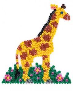 Midi Hama Bead Giraffe