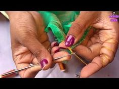 How to make Krosha / Crochet saree tassels I Detailed tutorial for beginners. - YouTube