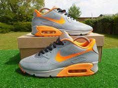 GENUINE  NIKE AIR MAX  90 HYPERFUSE PREMIUM  JUNIOR WOMEN'S TRAINERS SIZE UK 6 #Nike #Trainers