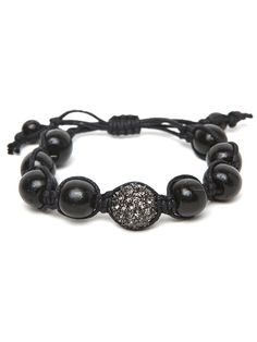 BaubleBar Black Wood Pop Bracelet $20 -- Just got this from Birchbox today as a gift...so cute