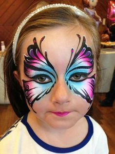 Hhj more facepainttutorial the post hhj appeared first on woman casual tattoos and body art art body tattoosandbodyart face painting ideas for a kids birthday party Girl Face Painting, Face Painting Tips, Face Painting Tutorials, Face Painting Designs, Paint Designs, Face Paintings, Butterfly Face Paint, Butterfly Painting, Butterfly Makeup