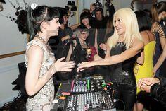 Claire Boucher (Grimes), Donatella Versace
