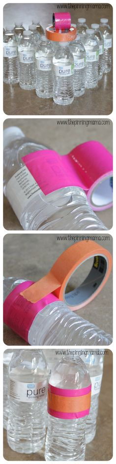 Quick and Easy DIY Party Water Bottles