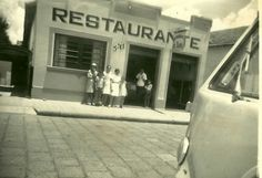 Restaurante Abril - Anos 1940 / 1950