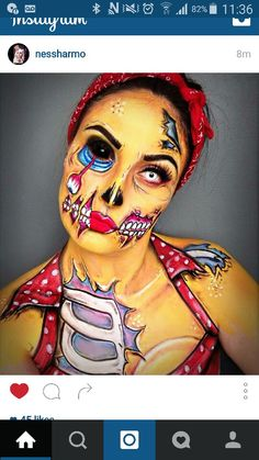Pop art zombie                                                                                                                                                                                 More
