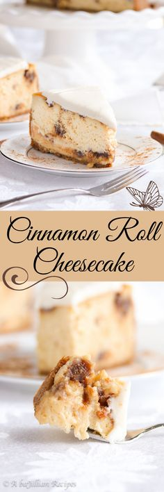 Cinnamon Roll Cheesecake - A baJillian Recipes Cinnamon Roll Cheesecake, Cheesecake Cake, Pie Cake, Cheesecake Recipes, Dessert Recipes, Yummy Recipes, Recipies, Easter Recipes, Holiday Recipes