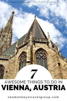 7 Awesome Things to do in Vienna, Austria Vienna is a city of history, culture, music and art, with a character and personality sculpted over centuries by the likes of great legends such as Mozart, Beethoven and Sigmund Freud. There are many historical places with a special charm indeed, but there are also other things you should know when you visit this awesome city. Vienna is mostly visited by people from Austria, Germany and Asian countries like South Korea.