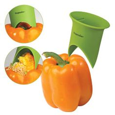 Pepper Corer, Bell Pepper Tool, Stuffed Pepper Tool | Solutions