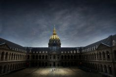 container0228:  fabforgottennobility:  Les Invalides by @-Hau on Flickr.  stunning