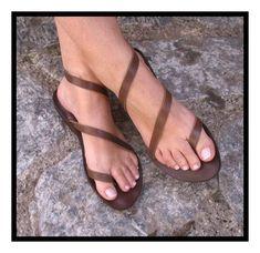 handmade sandals full leather creative sandals by Cute Sandals, Cute Shoes, Me Too Shoes, Shoes Sandals, Flat Sandals, Gladiator Sandals, Flats, Strappy Sandals, Fashion Mode