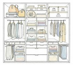 34 Ideas for bedroom wardrobe design layout master closet Wardrobe Design Bedroom, Master Bedroom Closet, Bedroom Wardrobe, Wardrobe Closet, Bedroom Cupboard Designs, Bedroom Cupboards, Closet Layout, Built In Wardrobe Ideas Layout, Dressing Room Design