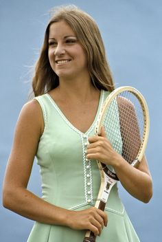 US number one tennis star Chris Evert in Tennis Rules, Sport Tennis, Tennis Stars, Martial, Tennis Legends, Tennis World, Vintage Tennis, Tennis Players Female, Tennis Fashion