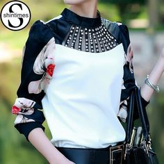 Check out our new design and all the wonderful accessories!! Chemise Femme Kor... http://designsbyzuedi.myshopify.com/products/chemise-femme-korean-fashion-clothing-long-sleeve-shirt-women-blouses-2017-diamon-summer-tops-blouse-blusas-mujer-plus-size-3xl?utm_campaign=social_autopilot&utm_source=pin&utm_medium=pin
