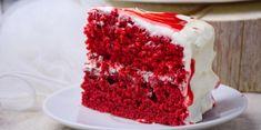 Maak met dit makkelijke recept een gezonde red velvet cake.