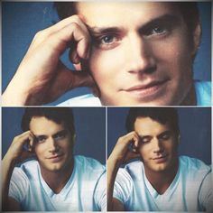 Henry Cavill for Japan's Exile Magazine collage by Henry Cavill fanpage FB