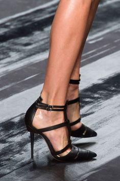Mendel at New York Fashion Week Spring 2015 - Details Runway Photos Pumps Heels, High Heels, Strappy Heels, Stilettos, How To Wear Heels, Jimmy Choo, Mode Shoes, All About Shoes, Beautiful Shoes
