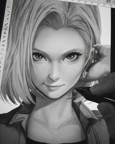 Trendy ideas for drawing dragon ball dragonball z Android 18, Dragon Ball Z, Dbz Androids, Manga Sexy, C 18, Ecchi, Naruto Art, Naruto Girls, Comics Girls