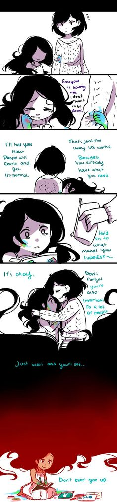 Anti-Social Media :: 25: Advice to myself   Tapastic Comics - image 1