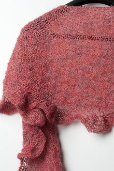 Lovely: Sunset Lace Shawl pattern by Tanya Beliak
