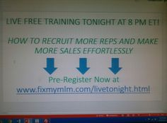 How to make more sales and recruit more reps