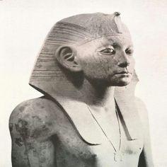 Pharaoh Amenemhat lll,1860 - 1814 BC (12th Dynasty ) Egyptian Museum.
