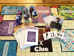 custom board game -