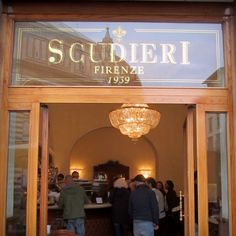 Scudieri - Caffe in Florence - I've had caffe here.  So cool. . .