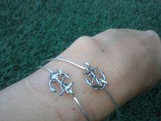 Silver+Bangle++Simple+Chic+Super+Cute++by+kraftychix+on+Etsy,+$10.00