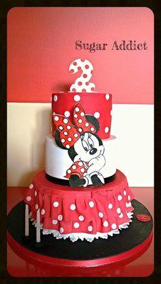 Minnie Mouse  by Sugar Addict by Alexandra Alifakioti