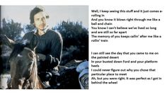 Bob Dylan Photographs with Brownsville Girl Lyrics