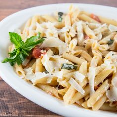 A quick throw together pasta dish that uses pantry staples. A quick and easy dish that the whole family will enjoy!