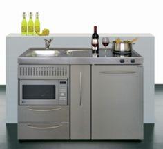 Fabulous Minikitchen Single kitchen small kitchen cabinet kitchen Limatec Junior kitchen K chen Pinterest K che
