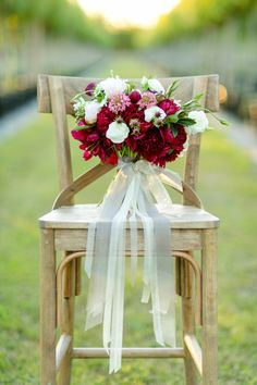 Red charm peony bridal bouquet