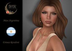 https://flic.kr/p/xiVTkx | Miss Argentina - Erinea Resident | Aquí están! Tenemos el inmenso honor de presentales a las Candidatas Oficiales a Miss Mundo Virtual 2016, una de ellas será la próxima representante de la Belleza Latina.
