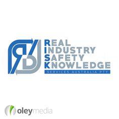 RISK Services  Logo Design Melbourne  #LogoDesign  http://www.oleymediagroup.com.au/portfolio/logo-design/