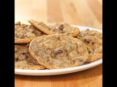 Graham Cracker Chocolate Chip Cookies