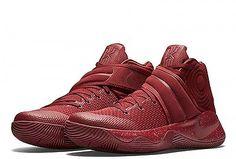 Nike Kyrie 2 Red Velvet Basketball Shoes Men's Size 15 New Irving Cavs DS LOOK