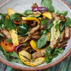 ESSEN & TRINKEN - Grillgemüse-Salat Rezept