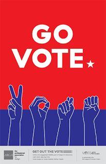 Curls Studio: Get Out the Vote Poster Design Get Out The Vote, Rock The Vote, Right To Vote, Vote Now, Protest Posters, Voting Posters, Political Logos, Life Poster, Voter Registration