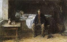Jozef Israëls - Alone (in the world) - c. 1880-81