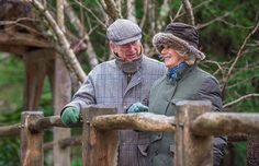 Affectionate: Prince Charles has praised the way his wife tackled the challenge of joining the royal family as 'brilliant' ahead of their 10th wedding anniversary next month. Above, the couple share a private moment