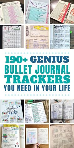 The super fun part of your bujo is the trackers and collections! Choose from our HUGE list of bullet journal ideas So many things to track in your bullet journal you might not have thought of! Bullet Journal Tracking, Bullet Journal Hacks, Bullet Journal How To Start A, Bullet Journal Layout, Bullet Journal Inspiration, Bullet Journals, List Of Bullet Journal Pages, Journal List, Daily Journal
