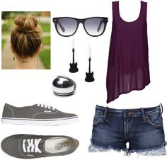 """Summer Rocker"" by estieladr on Polyvore"